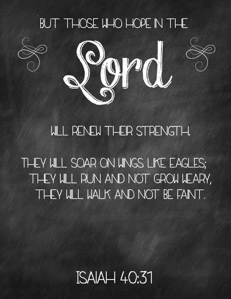 Hope in Lord