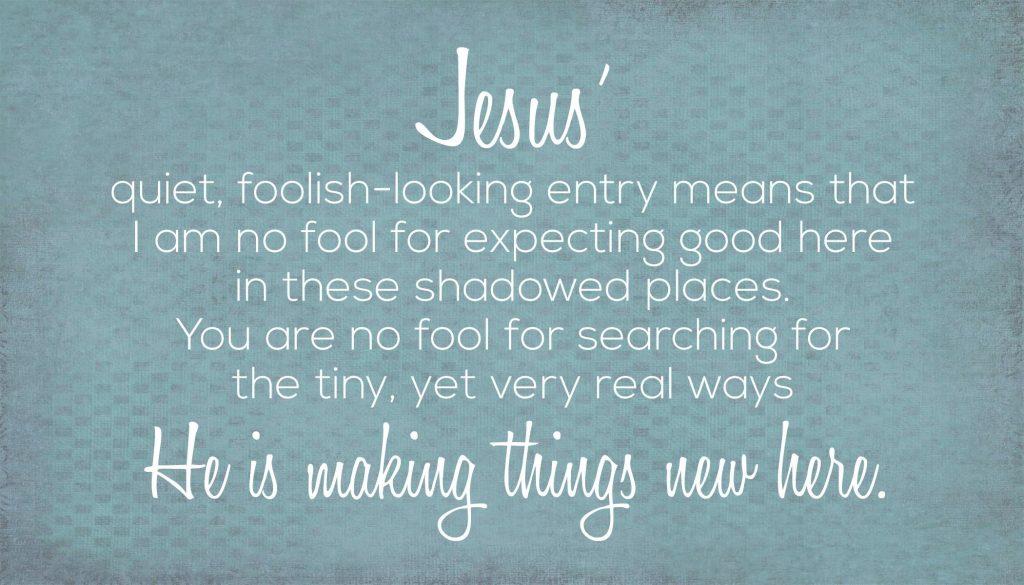 Who is Jesus_Meredith